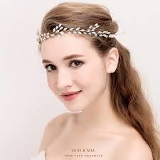 Accessoires Pour Cheveux Coiffure De Mariée Diamant Dor