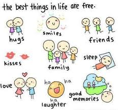 Cute Life Quotes Simple Cute Life Quote About Happiness The Best Things In Life Are Free