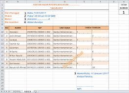 Mulai mengisi pastikan pilih bulan apa yang akan diisi sebelum aktivitas harian. Cara Mudah Membuat Rumus Absensi Blog Tutorial Microsoft Excel