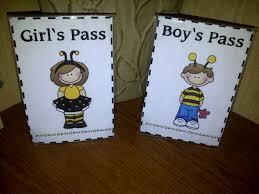 buzz to the bathroom passes