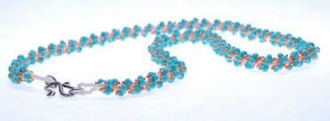Seed Bead Patterns Amazing Free Spiral Rope Seed Bead Patterns Necklace Tutorial Easy Spiral