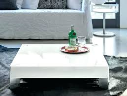 white gloss coffee table modern designer black high p with led lighting tables in rotating coffee tables white high gloss