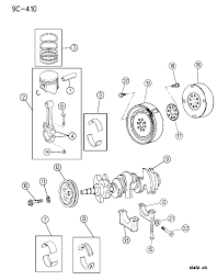 1996 chrysler concorde crankshaft piston and torque converter diagram 00000c8v