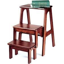 ergonomic folding step chair stupendous step chair stool design folding library steps combo wood step stool