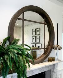 Full Size of Furniture, Decorative circle wall mirrors giant circle mirror  round living room mirrors Large ...