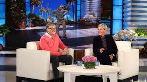 Bill Gates Chats with Ellen for the First Time - YouTube