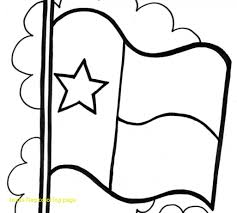 Texas Flag Coloring Page Texas Flag Coloring Page With Texas Flag