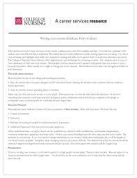 New Graduate Nursing Resume Template Sidemcicek Com