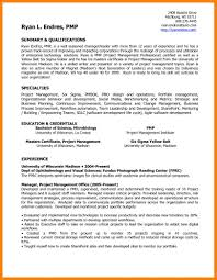 11 Project Manager Resume Summary Wsl Loyd