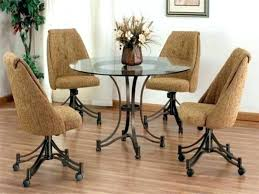 dining room chairs on rollers dining chairs with casters dining chair on casters casual dining chairs