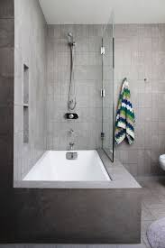 Nice compromise between shower and tub. want to do this in my main bathroom.