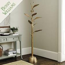 Coat Tree Rack Mesmerizing Gold Bunny Williams Metal Tree Coat Rack