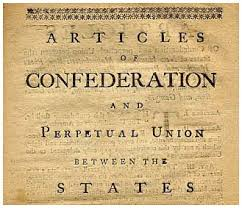 articles of confederation dowell middle school u s history the continental congress decided to create a government to lead the new nation in 1777 after much debate the articles of confederation was completed