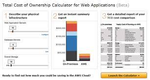The New Cloud Tco Comparison Calculator For Web Applications