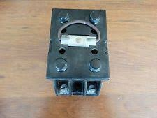 vintage fuse box ebay Old Military Fuse Box nos vintage fuse box holder panel w two 40amp fuses Old-Style Fuse Boxes