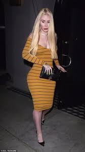Iggy Skintight Azalea Yellow Daily Sizzles Midi Dress In La ttwrR