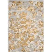 safavieh evoke grey gold 4 ft x 6 ft area rug