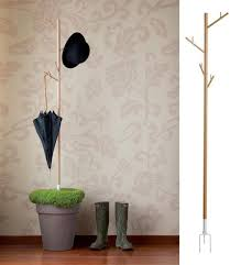 Coat Rack Cool Recover Coat Rack with Hooks for Umbrellas Green Design Idea for 80