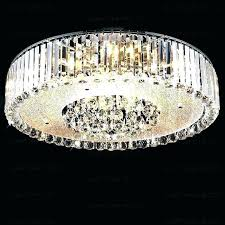 flush mount crystal light small flush mount chandelier chrome and crystal ceiling flush mount chandelier ping