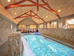 gatlinburg one bedroom cabin with indoor pool. skinny dippin | 3 bedroom cabin rental pigeon forge and gatlinburg smoky mountain dream vacation rentals anniversary pinterest one with indoor pool