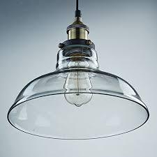 enchanting glass pendant light shades les yobo lighting industrial edison 1 light glass shade ceiling
