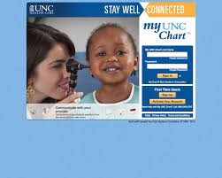Unc Chart Account Web Design Example A Page On Myuncchart Org Crayon