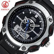 white digital waterproof men s sports watches ad1209 ohsen watch white digital waterproof men s sports watches ad1209