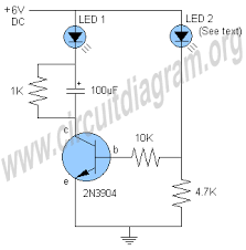 how to build an led flasher circuit with a 555 timer chip Led Flasher Wiring Diagram one transistor led flasher circuit diagram, circuit diagram grote led flasher wiring diagram