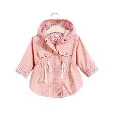 Infant girl spring jacket