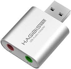 Hagibis USB External Sound Card Adapter 2 in 1 USB ... - Amazon.com