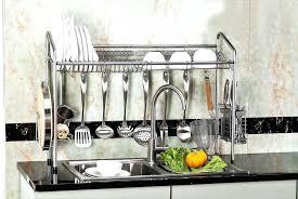 kitchen sink dish rack over the sink dish rack drainer amusing over the sink dish rack