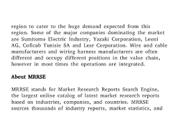 automotive wire and cable materials market overview share developme 7 region