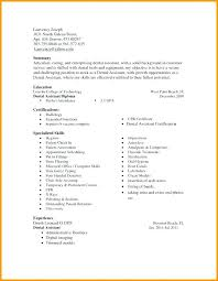 40dental Assistant Resumes Skills Statement Letter Cool Dental Assistant Resume Skills