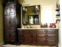 Bathroom Vanity With Hutch Custom Bathroom Vanities Ideas Mahogany