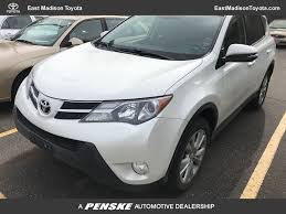 2013 Used Toyota RAV4 4WD 4dr Limited at East Madison Toyota ...