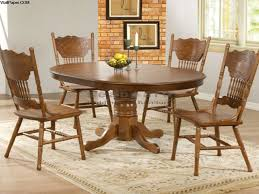 oak round dining table set for 4 round dining set for 4