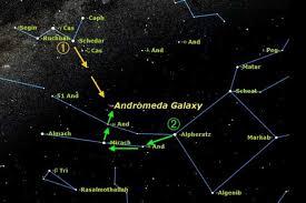 Pegasus Star Chart To Find Andromeda Use A Star Chart Andromeda Galaxy
