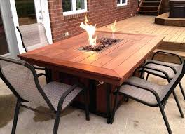 diy fire pit table kit