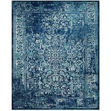evoke navy ivory 9 ft x 12 ft area rug