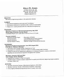 Example Engineering Resume Impressive Resume Mechanical Engineer YAKX Mechanical Engineering Resume