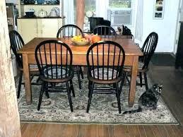 round rug for under kitchen table rug under kitchen table rugs for under dining room table