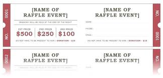 Printable Raffle Ticket Templates Free Template Tickets Numbers