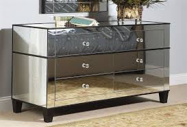 contemporary mirrored furniture. Perfect Modern Mirrored Nightstands With Dresser Awesome Ideas Home Contemporary Furniture O