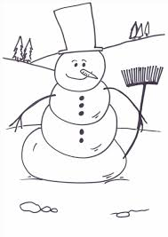 Small Picture Tree Page Snowman Christmas Snowman Coloring Pictures With