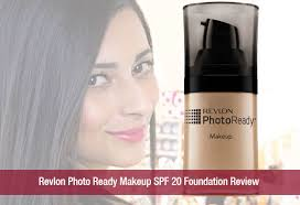 pact makeup revlon photo ready makeup spf 20 foundation review