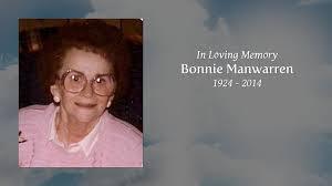 Bonnie Manwarren - Tribute Video