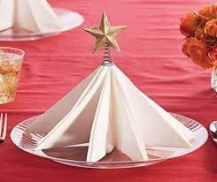 Christmas Tree Napkin Fold | Christmas Napkin Fold | Chinet®