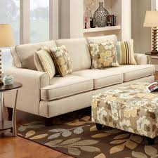 Marlo Furniture Living Room Marlo Ivory Sofa By Fusion Furniture Sku 260071574 Dimensions