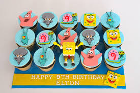 11 Spongebob Cupcakes Ideas Photo Spongebob Cupcake Cake
