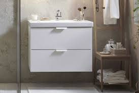 bathroom vanities and sinks. Interesting And White Bathroom Vanity Featuring Cabinet With Two Drawers And White  Porcelain Sink Chrome Faucet To Bathroom Vanities And Sinks A